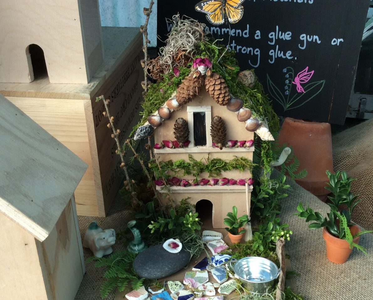 Build a Fairy House at the Potting Shed on June 10th