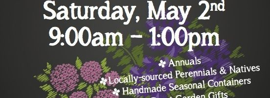 Spring Plant & Tag Sale – May 2nd