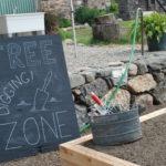 Free digging zone