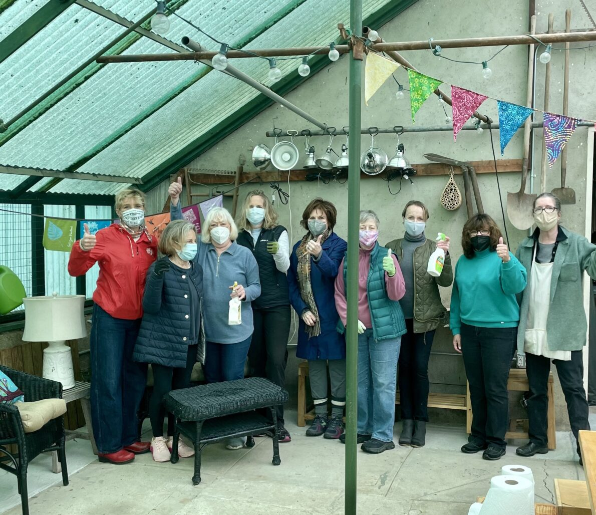 Rowayton Gardeners Clean Up!