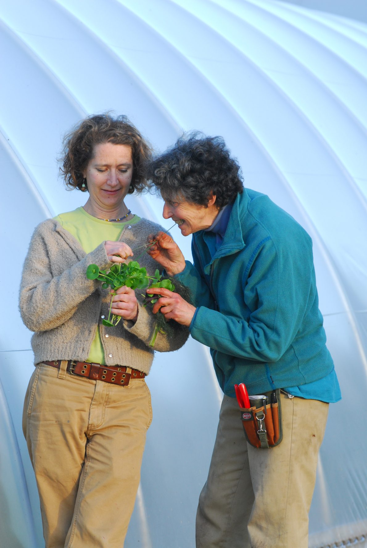An Evening with Farmer Eva Sommaripa and Cookbook Author Didi Emmons
