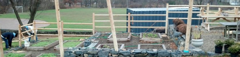 Potting Shed Patch Fence Emerges!
