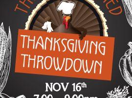 Thanksgiving Throw-down