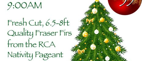 Annual Christmas Tree Sale on December 15th