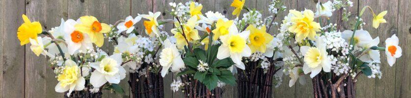 April Floral Design Workshop with Hedge Floral