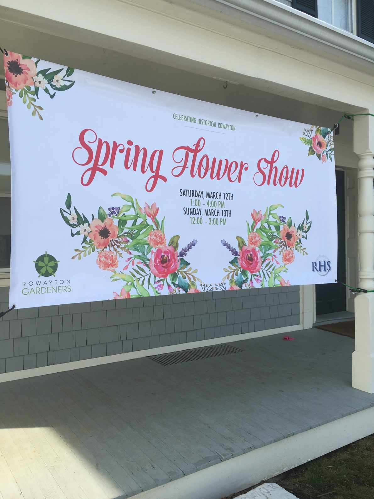 Flower Show Receiving