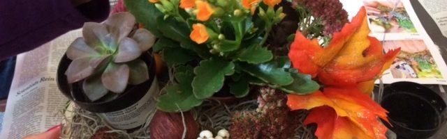 Hill Top Gardeners Greet Fall