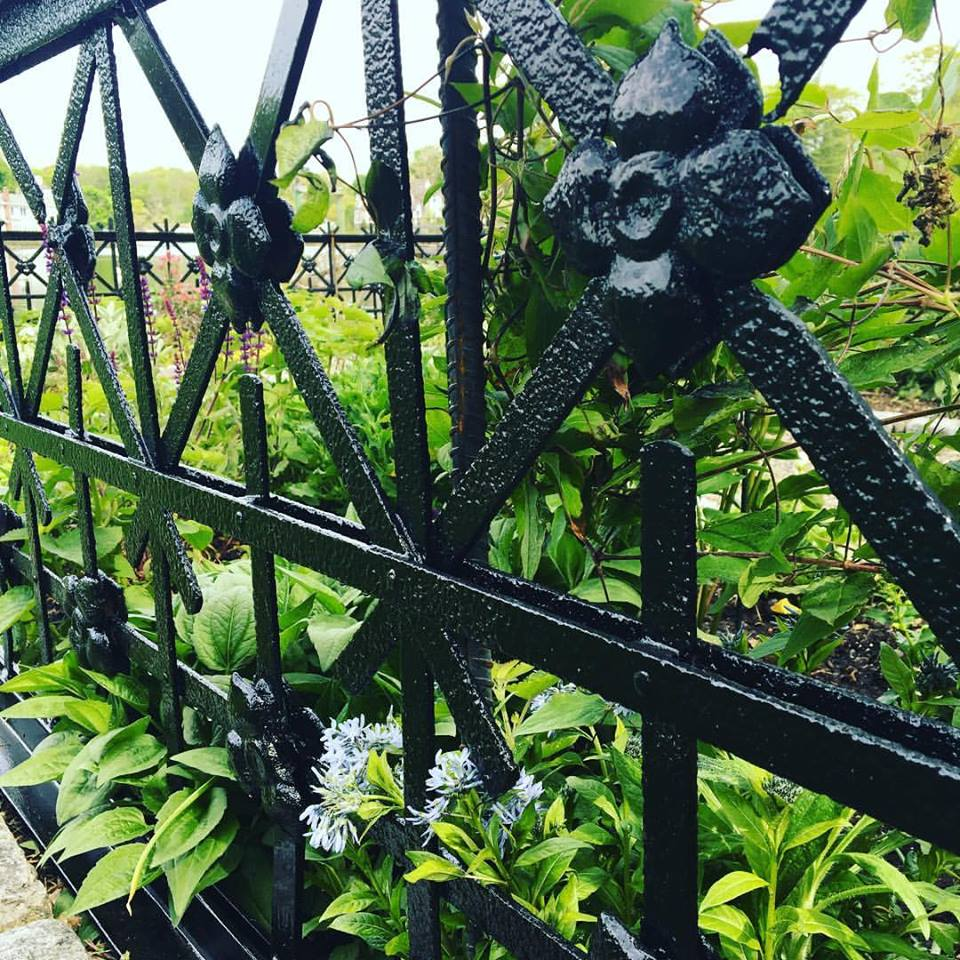 Pinkney Garden Gets a New (Old) Fence